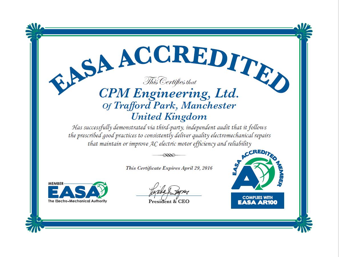 cpm engineering certificate benefits end user