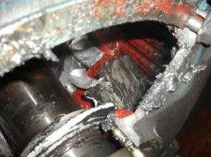 NDE of electric motor