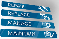 Repair-Replace-Manage-Maintain